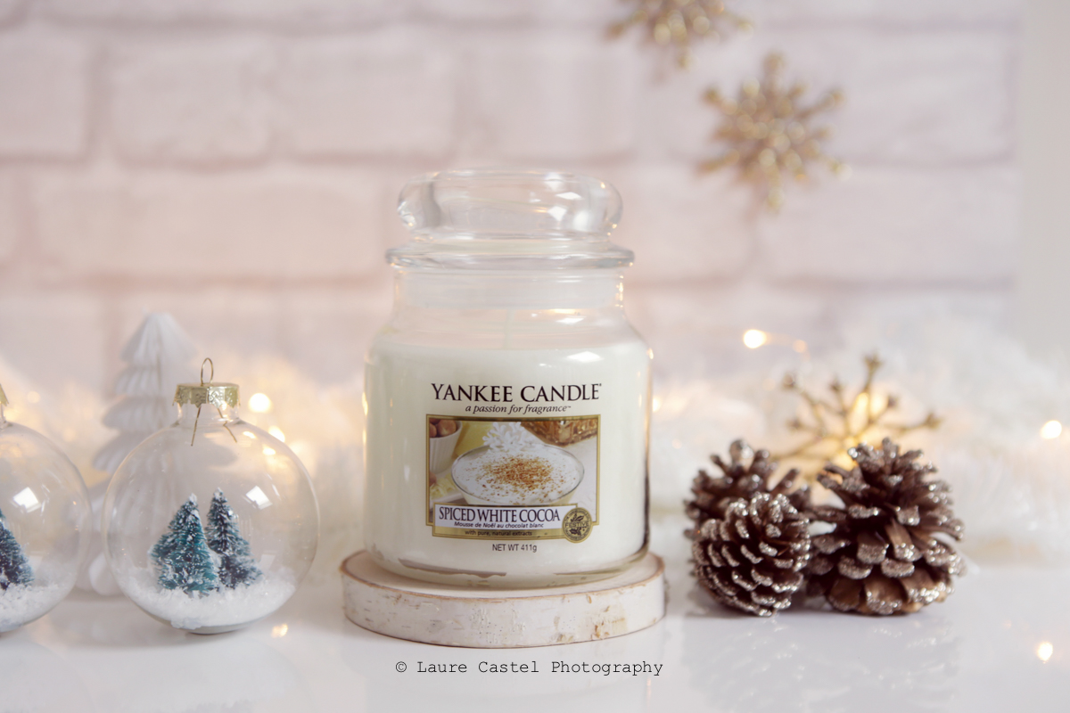 Yankee Candle Spiced White Cocoa The Perfect Christmas l Les Petits Riens