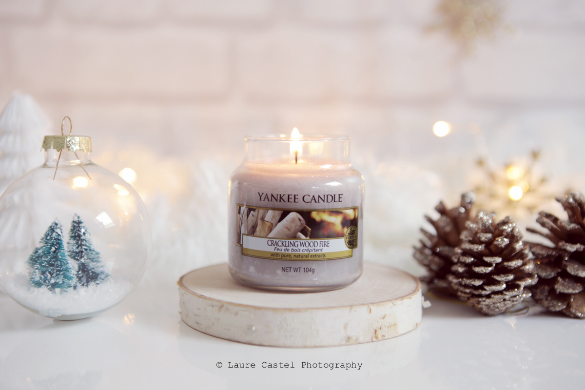 Yankee Candle Crackling Wood Fire The Perfect Christmas l Les Petits Riens