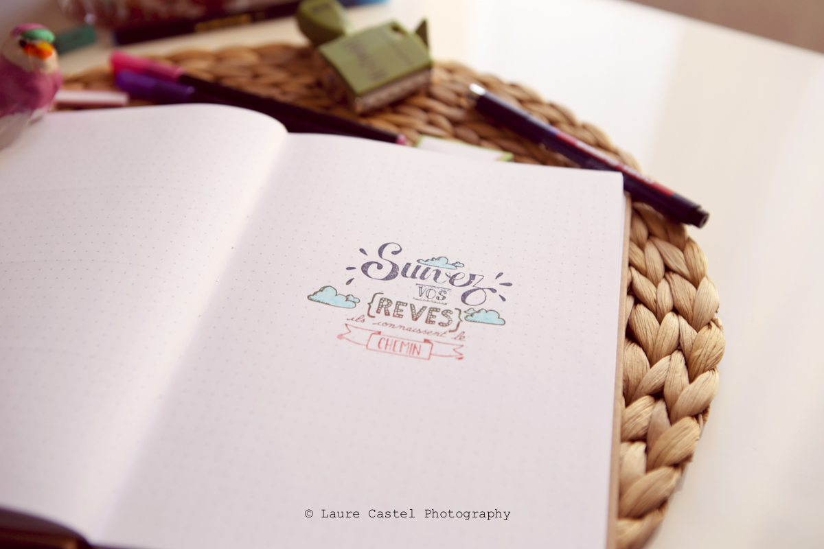 Bullet Journal pour blogueuse kit Toga | Les Petits Riens