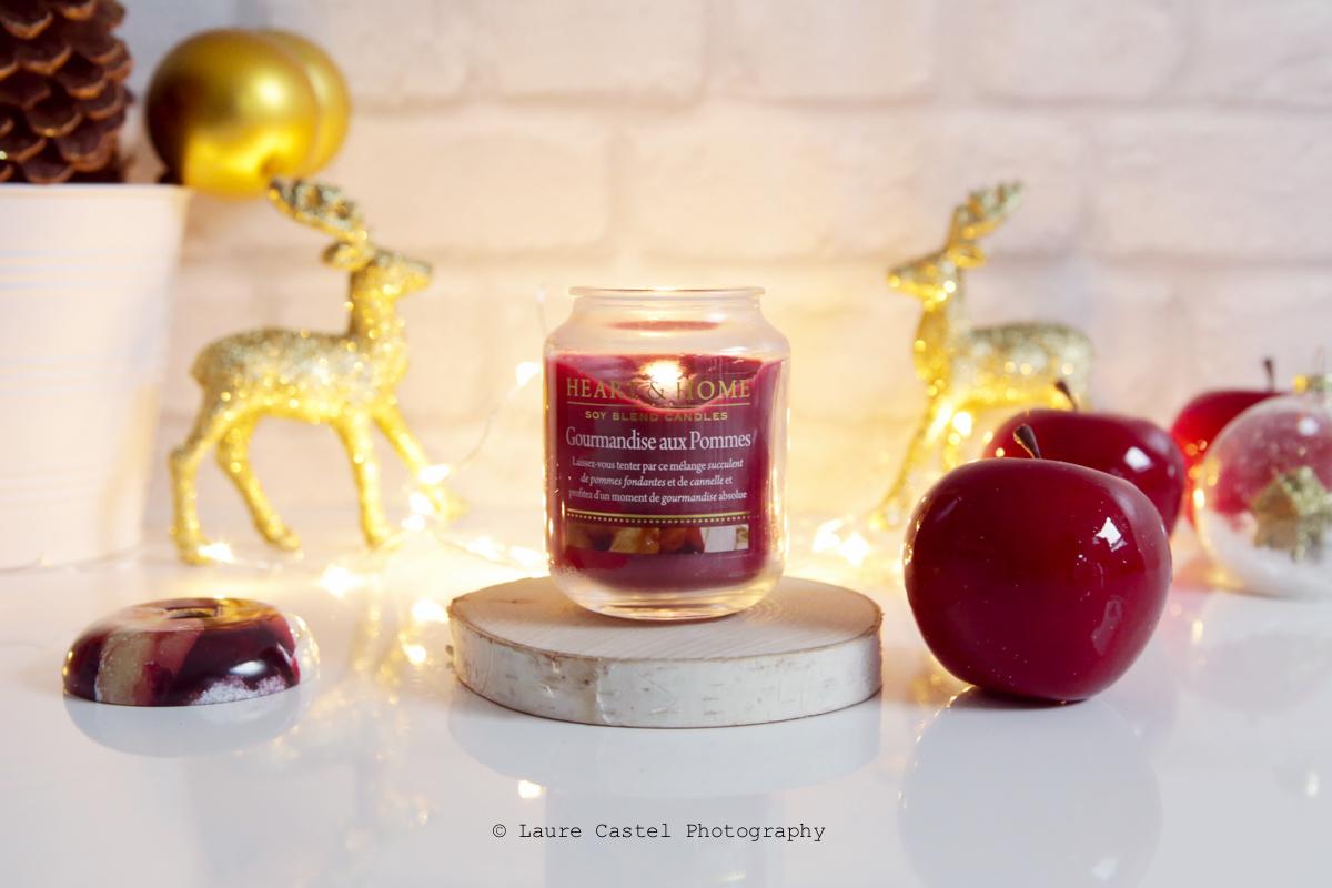 Bougie parfumée Heart & Home | Les Petits Riens