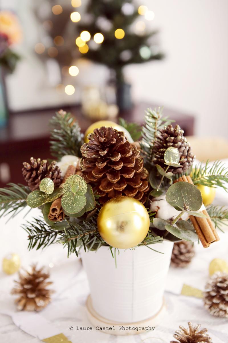 Le Jardin des Fleurs centre de table de Noël | Les Petits Riens
