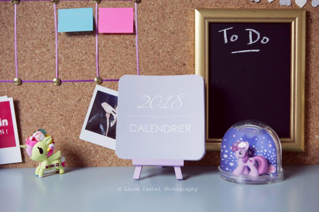 Calendrier 2018 à imprimer | Les Petits Riens