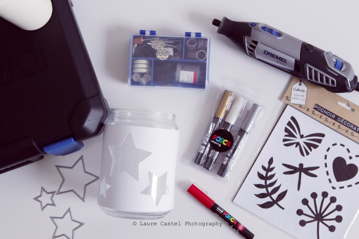 DIY gravure sur verre | Les Petits Riens
