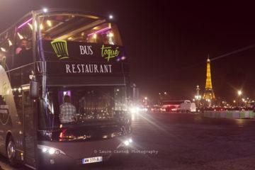 Bus Toqué restaurant avec vue sur Paris | Les Petits Riens