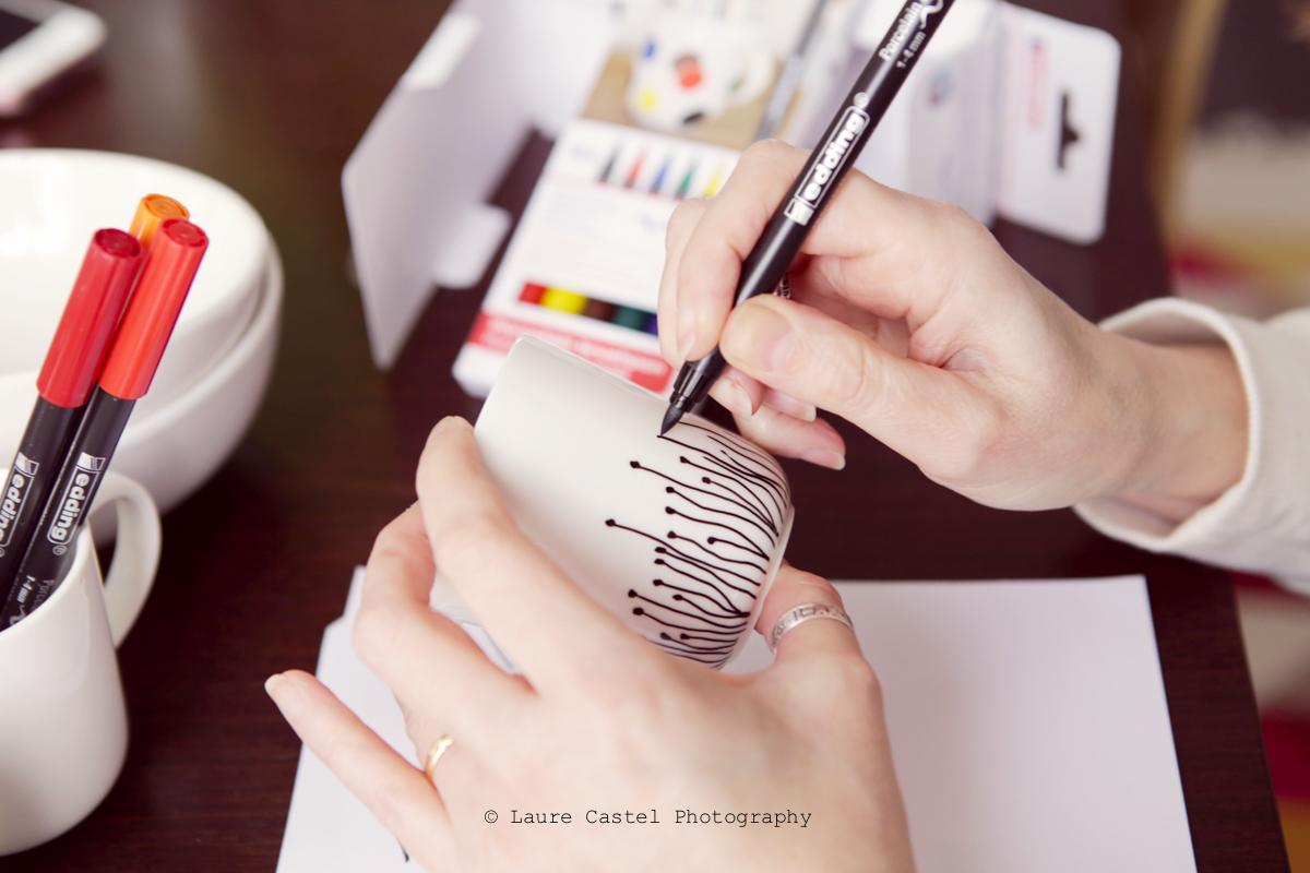 DIY décorer de la porcelaine | Les Petits Riens