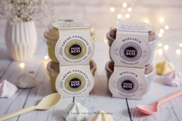 Pots & Co crème fondante citron moelleux chocolat | Les Petits Riens