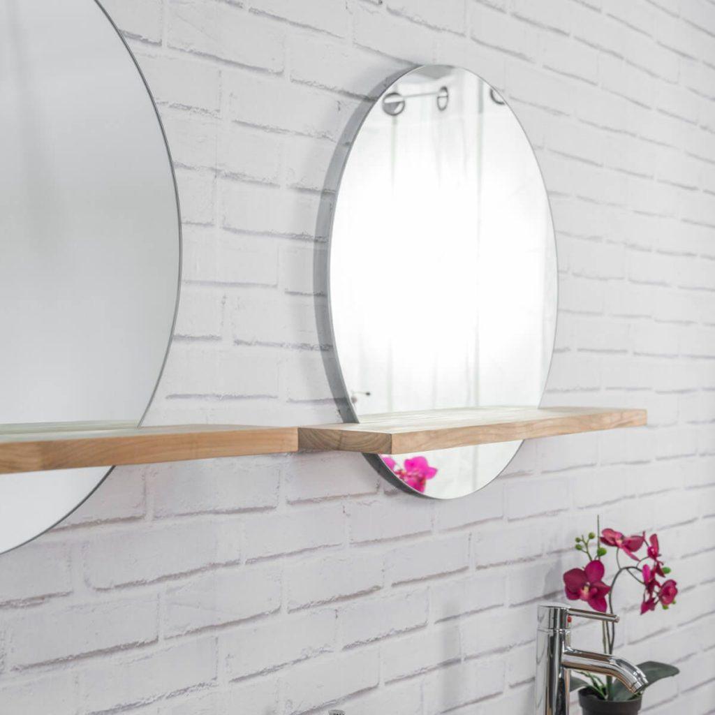Du bois dans la salle de bain idée déco | Les Petits Riens