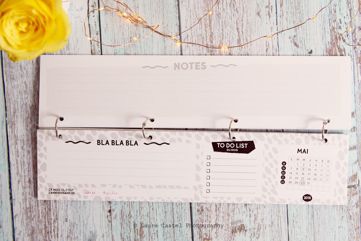 Agent Paper month planner | Les Petits Riens