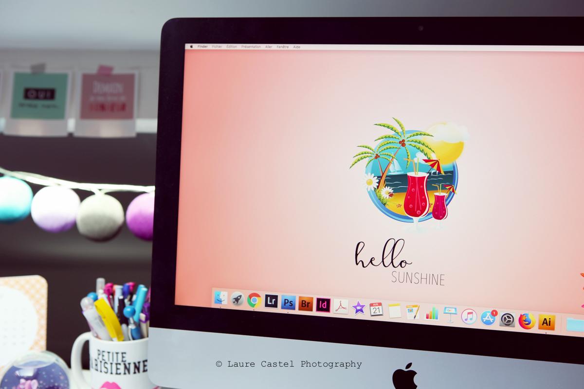 Fond d'écran Hello Sunshine | Les Petits Riens