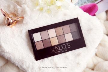 Maybelline palette The Nudes | Les Petits Riens