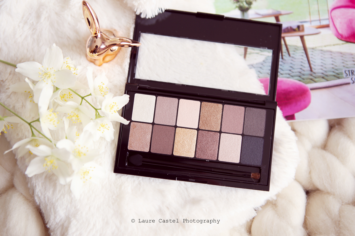 Maybelline palette The Nudes | Les Petits Riens