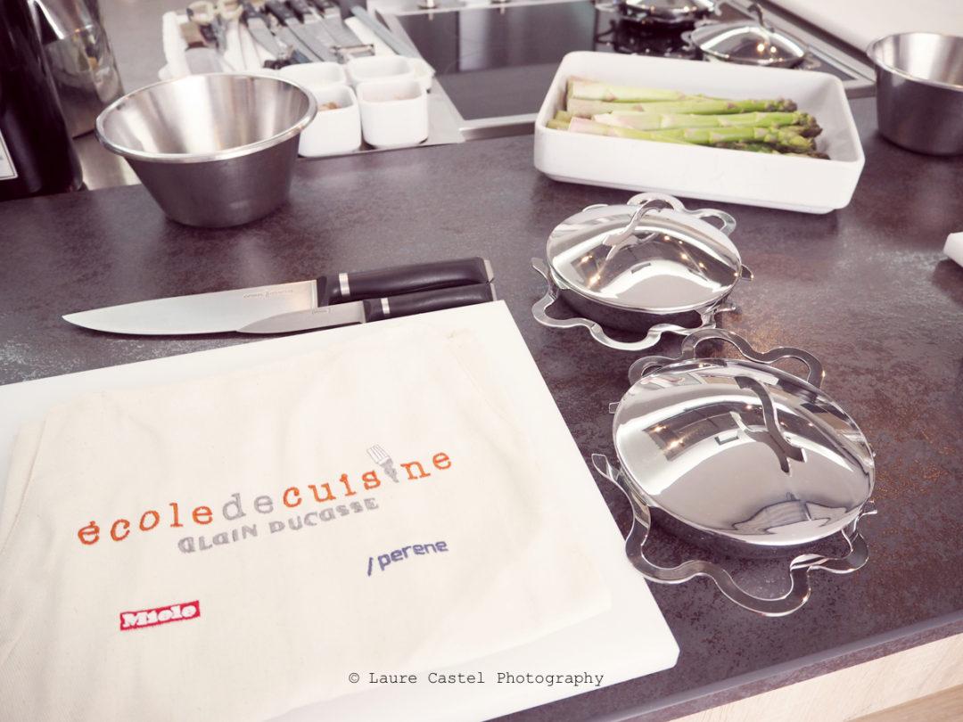 Alessi poêle à oeuf TEGAMINO Ecole de cuisine Alain Ducasse | Les Petits Riens