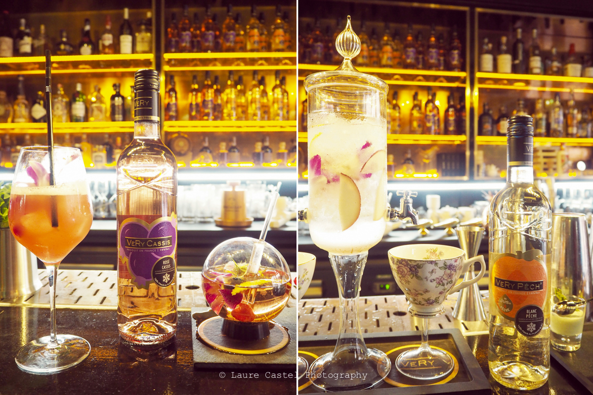 Very Cassis Pêche cocktail recette l Les Petits Riens