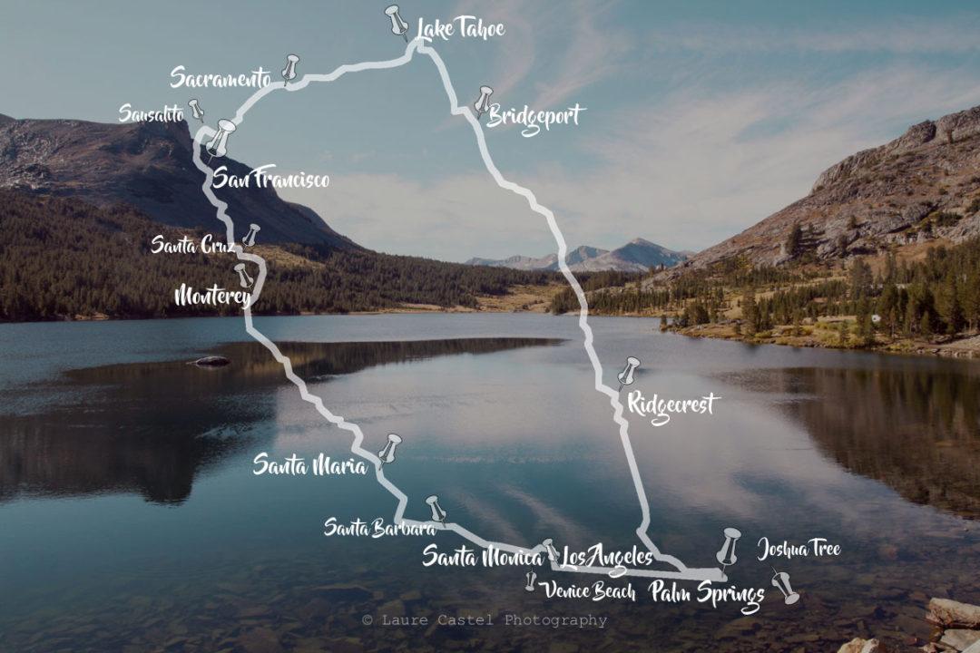 Californie road trip 15 jours | Les Petits Riens