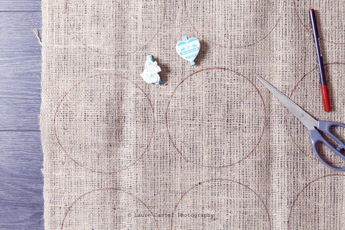 Calendrier de l'Avent DIY pochons en toile   Les Petits Riens
