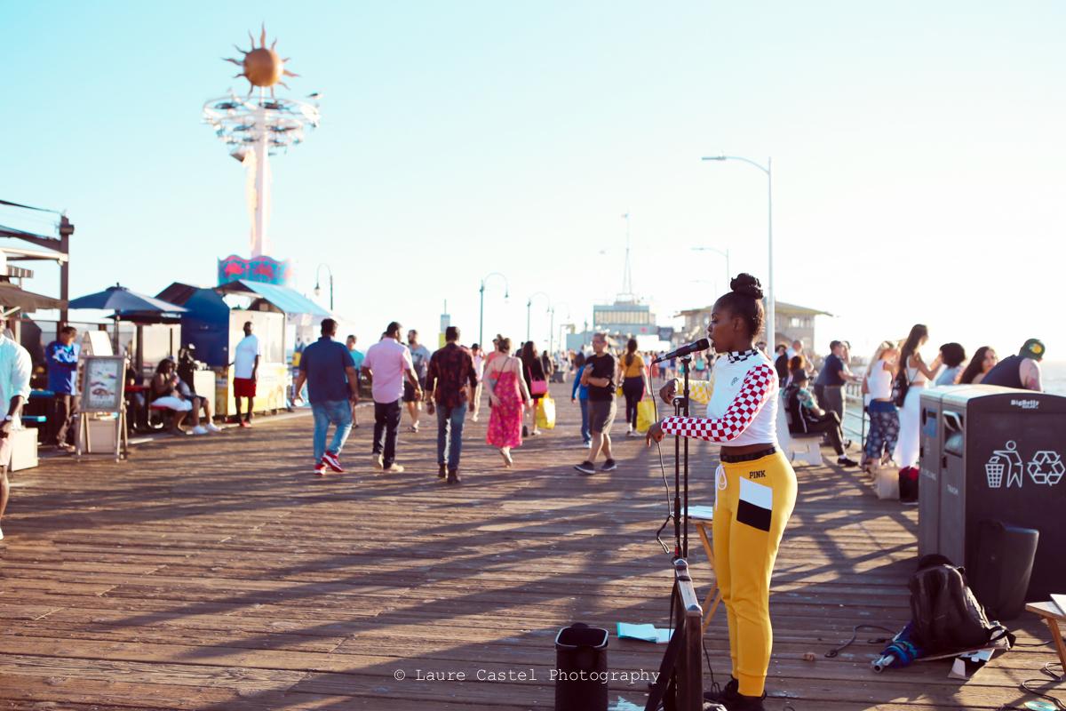 Californie Venice Beach Santa Monica Pier | Les Petits Riens