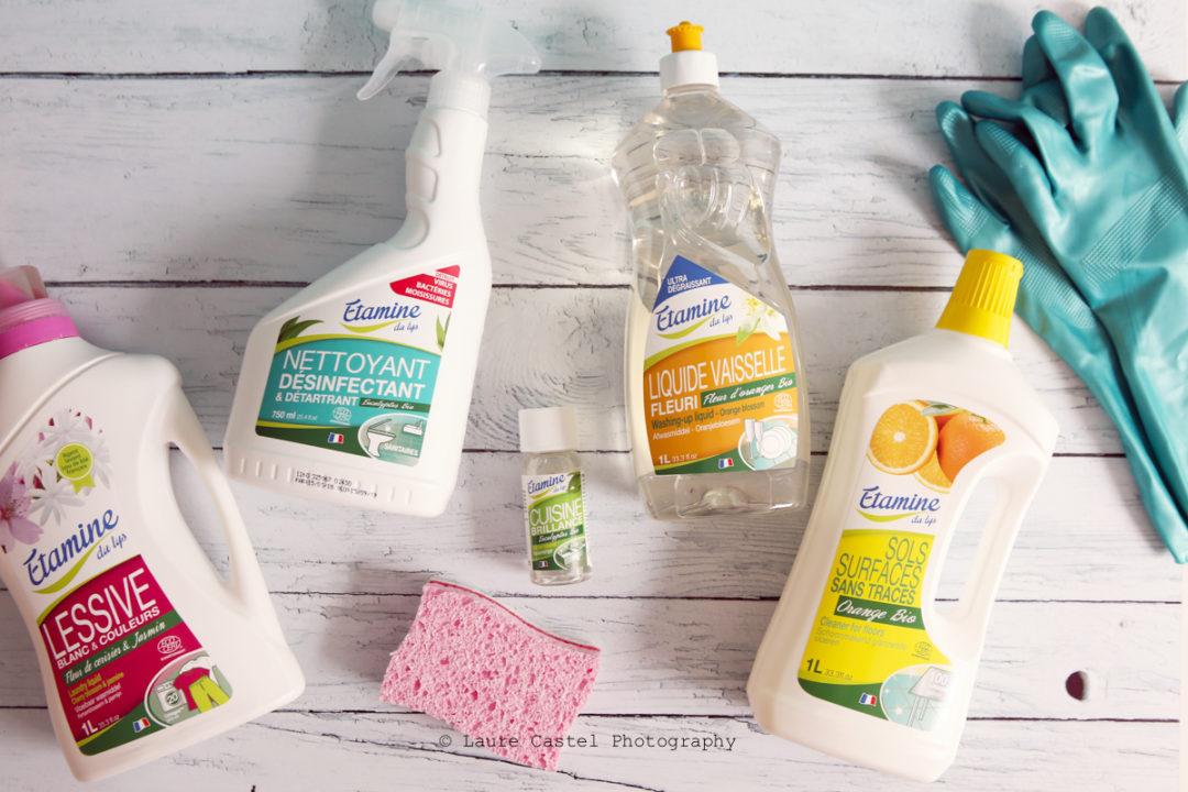 Etamine du Lys produits ménagers bio | Les Petits Riens