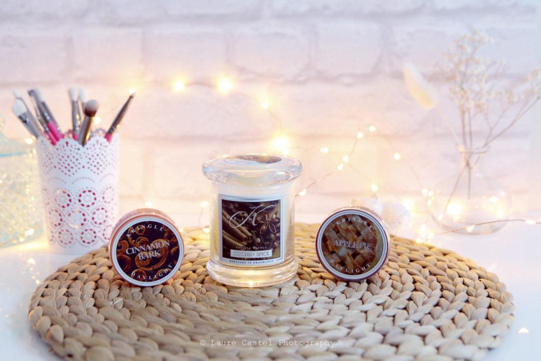 Bougies Kringle Candle idée cadeau Noël | Les Petits Riens