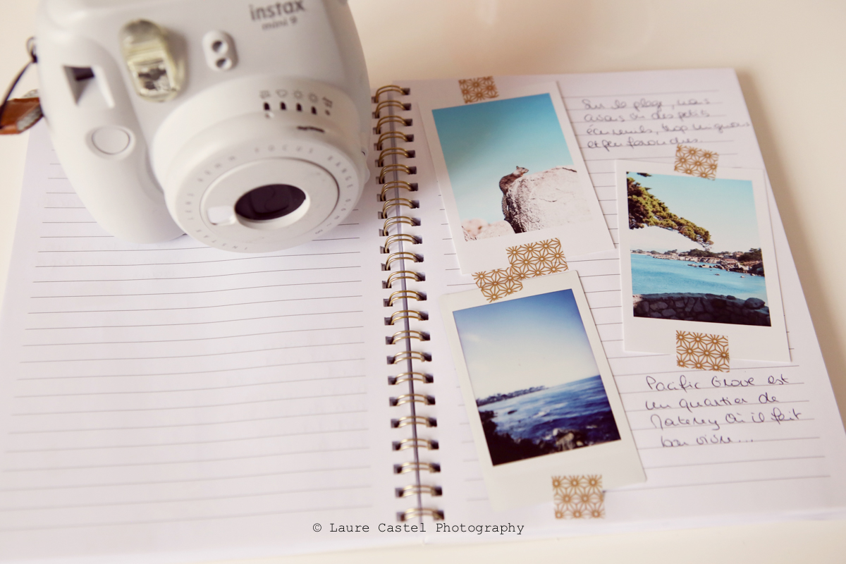 Carnet de voyage instax Mini9 | Les Petits Riens