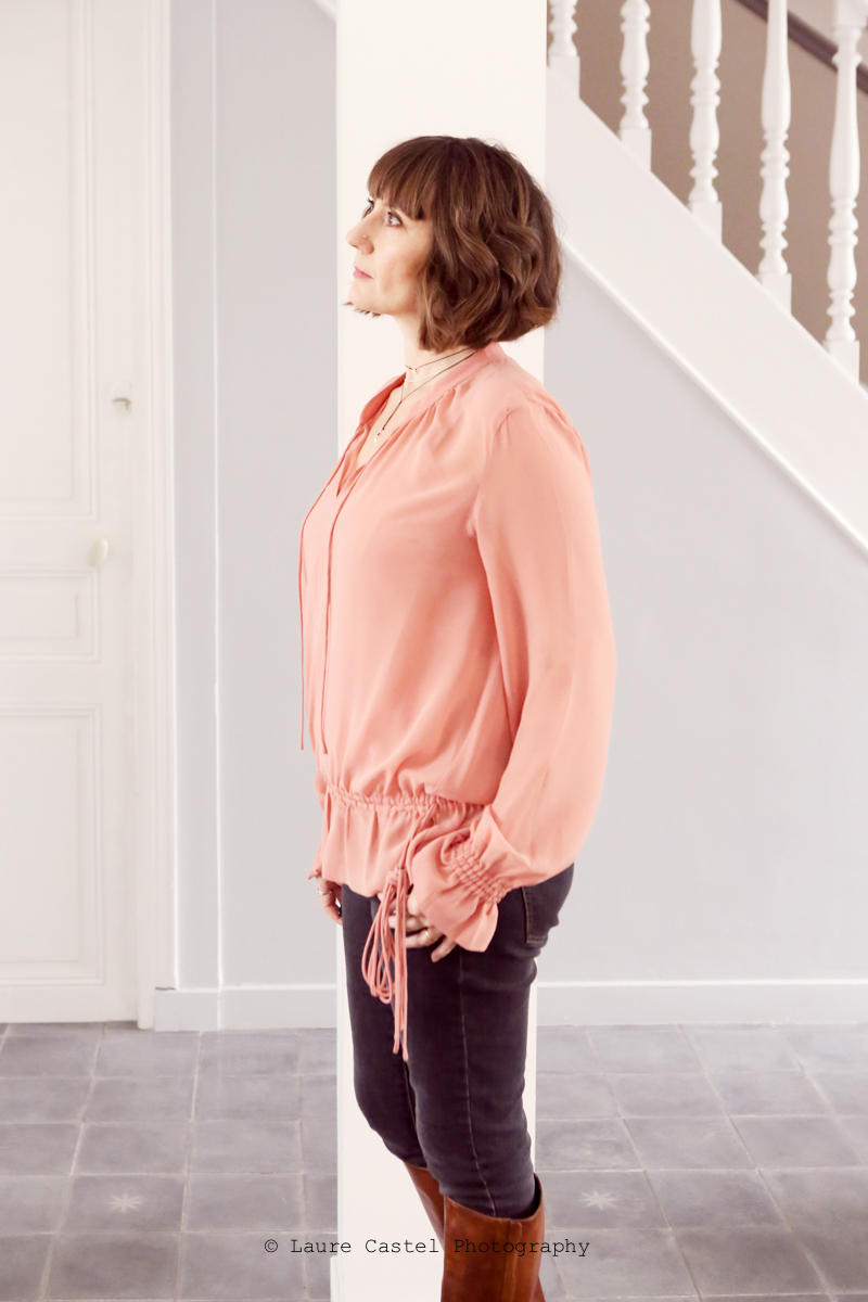 Blouse One Step look   Les Petits Riens