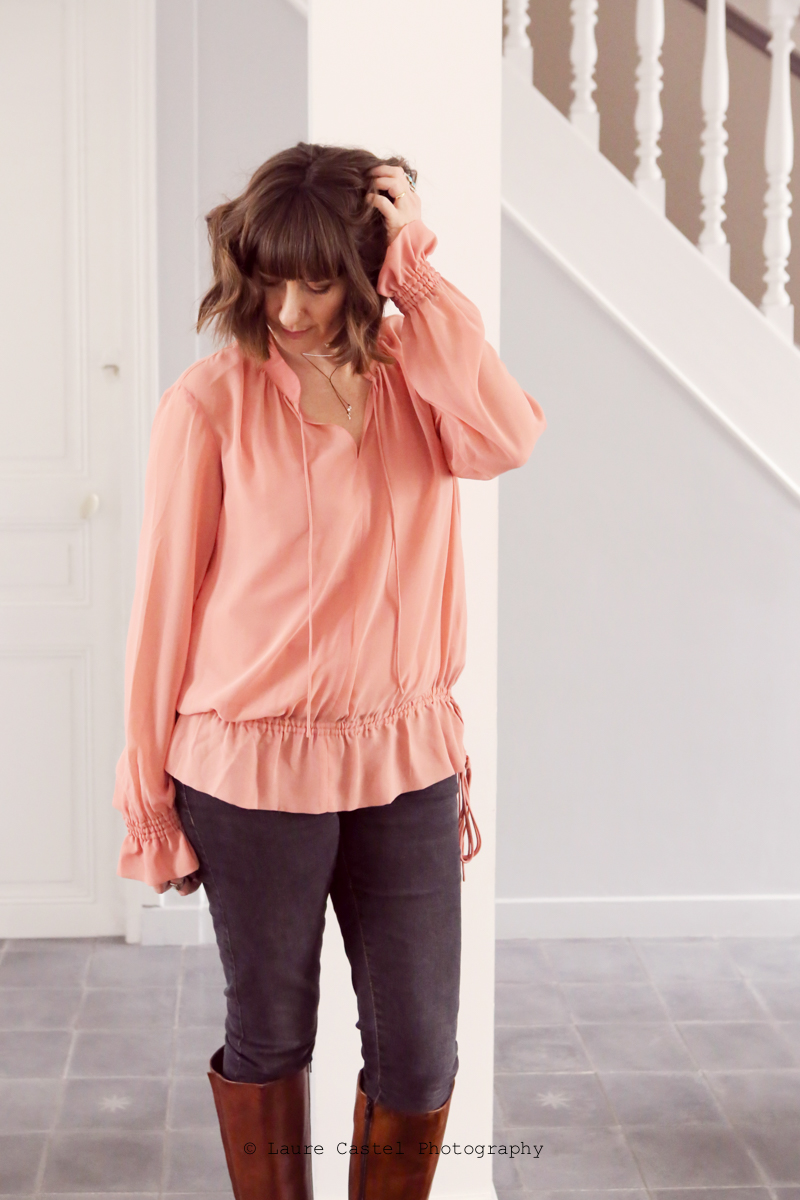 Blouse One Step look | Les Petits Riens