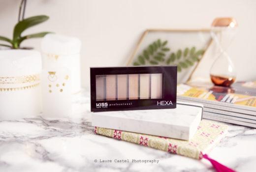 Palette HEXA nude de Kiss | Les Petits Riens
