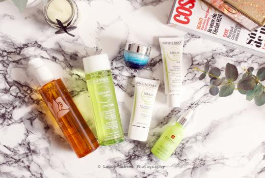 Routine soins visage peaux mixte à tendance grasse | Les Petits Riens