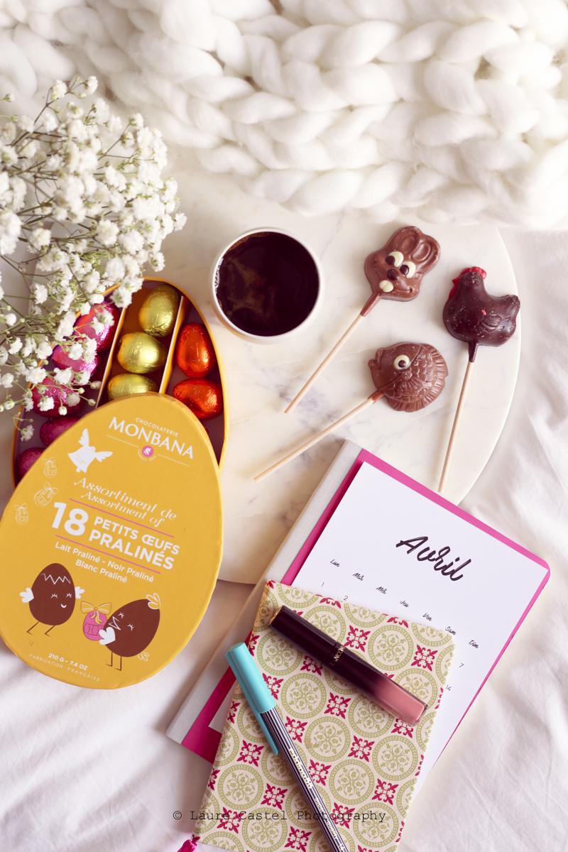 Chocolats Monbana Pâques 2019 | Les Petits Riens