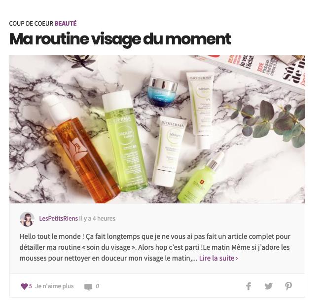 Les Petits Riens blog lifestyle feminin quadra