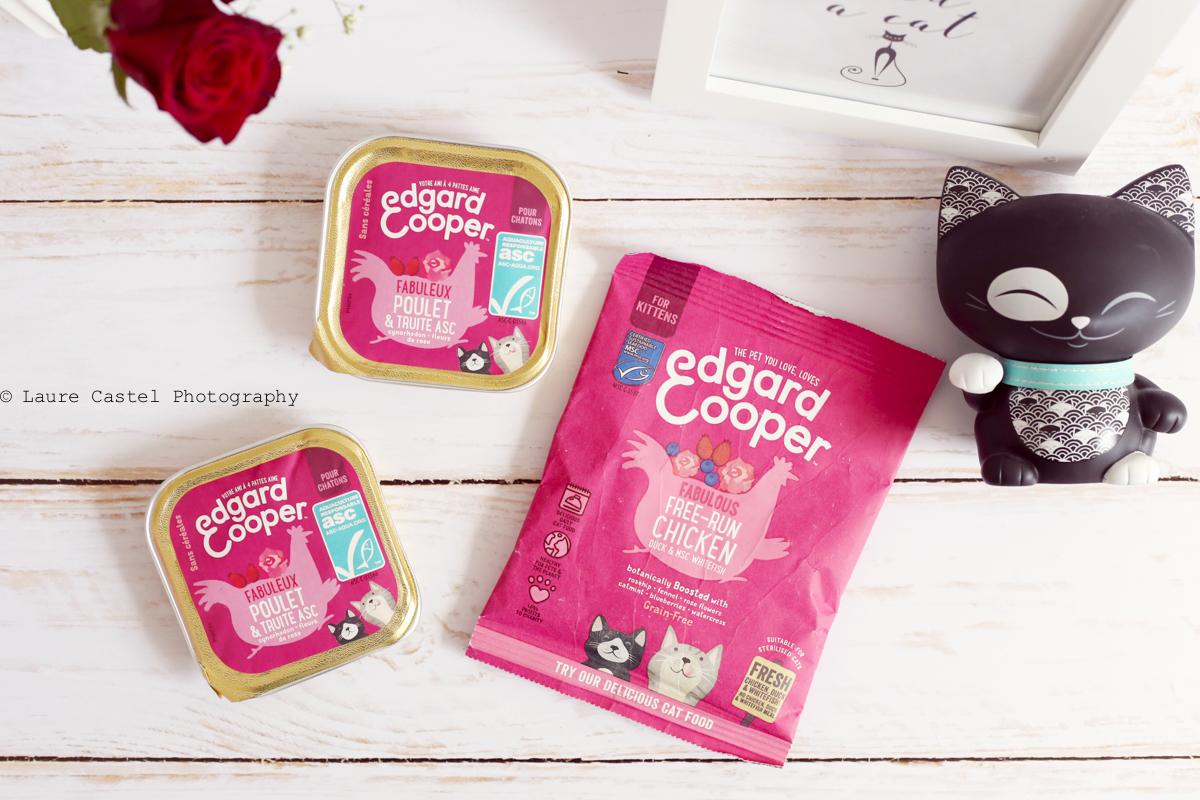 Préparer l'arrivée d'un chaton Nourriture sans céréales Edgar Cooper | Les Petits Riens