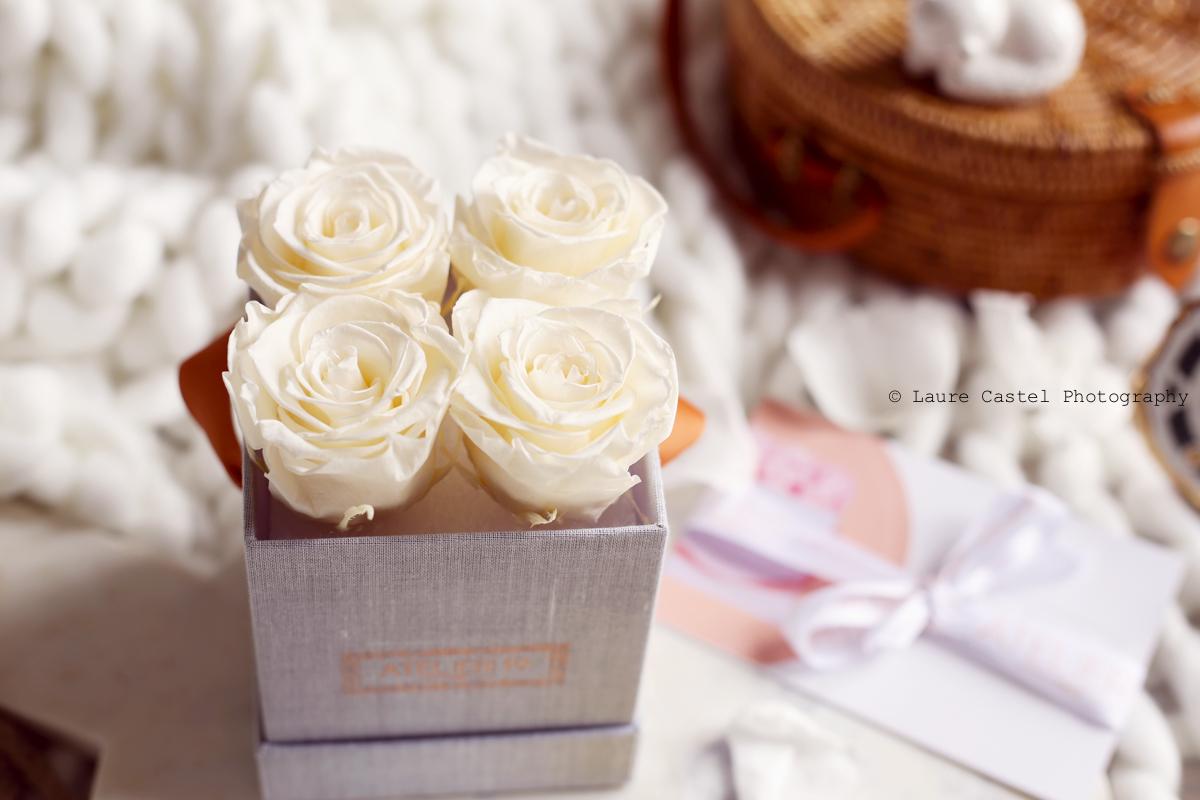 Atelier 19 design floral roses stabilisées l Les Petits Riens