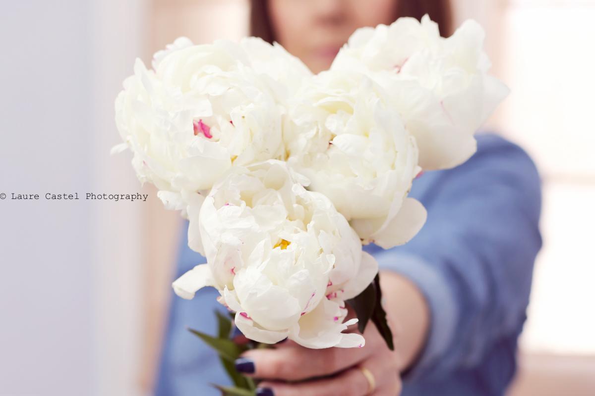 Bouquet pivoines bohème chic | Les Petits Riens