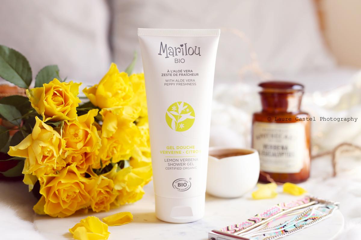 Marilou Bio gel douche verveine citron à l'aloe vera | Les Petits Riens