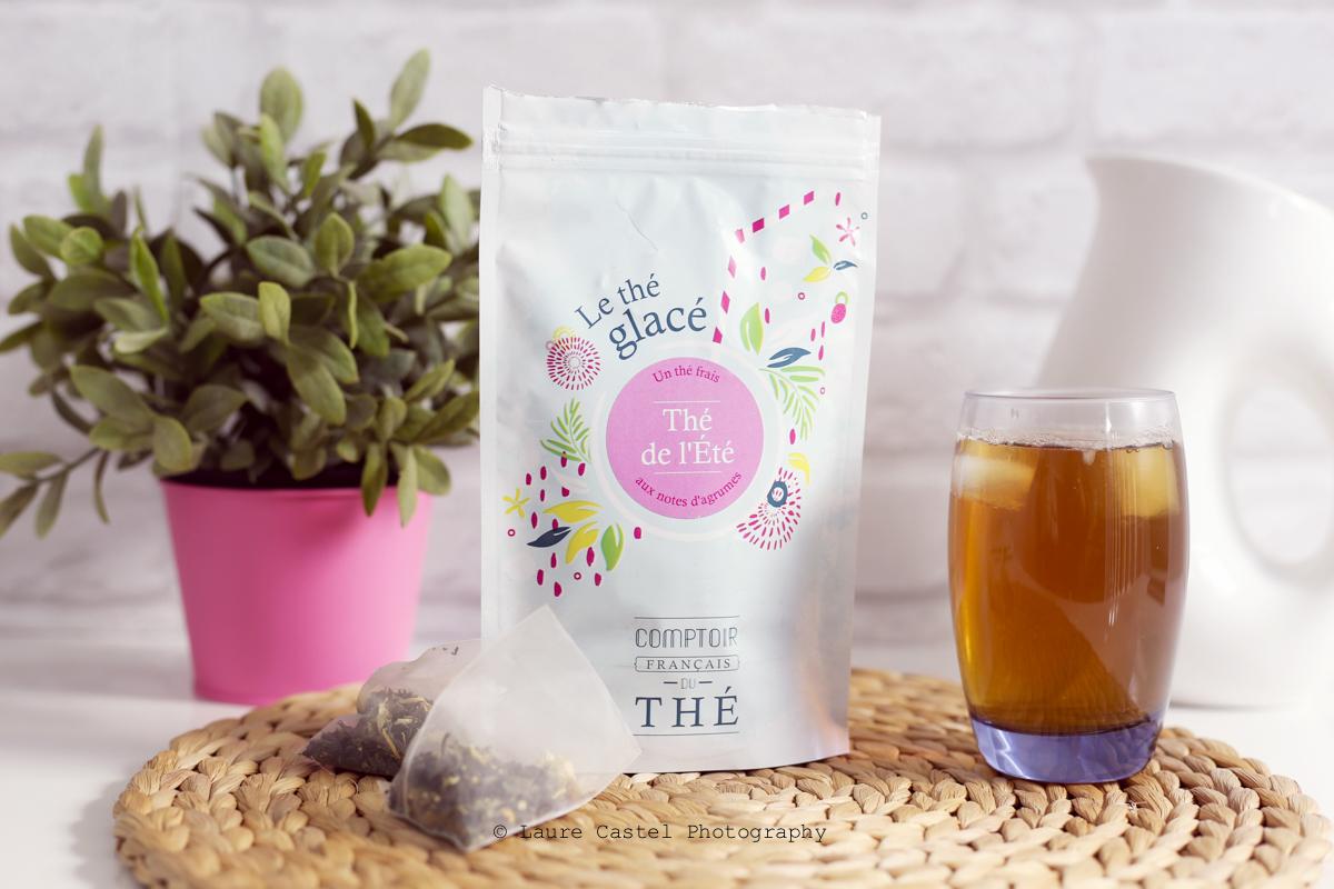 Thé glacé Thé de l'été Comptoir Français du Thé | Les Petits Riens