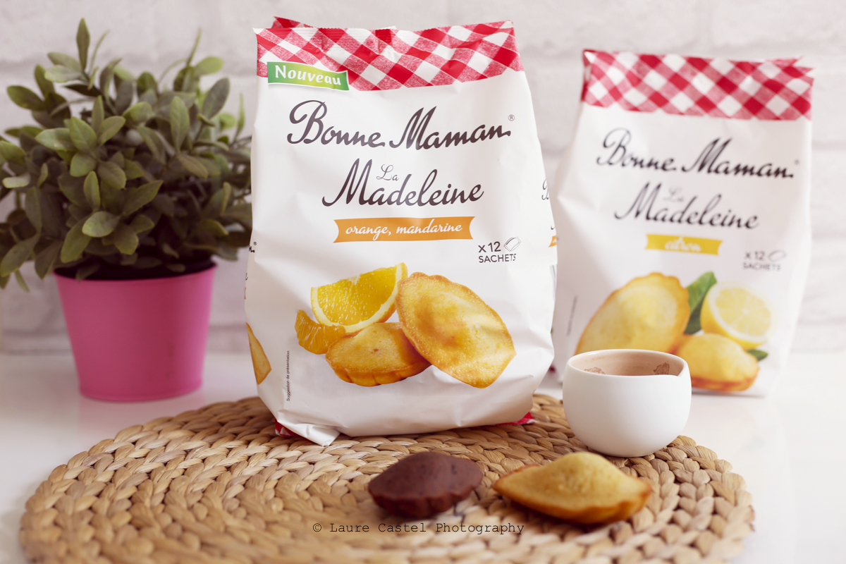 Madeleines Bonne Maman Orange Mandarine Citron | Les Petits Riens