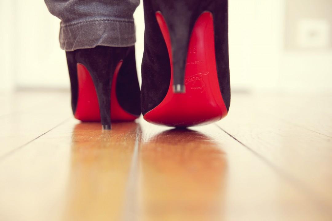 meilleur site web 04e59 a31ff Mes premiers escarpins à semelles rouges ! | Les Petits Riens