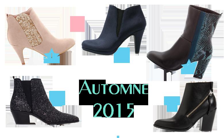 Sélection bottines automne 2015 Les Petits Riens