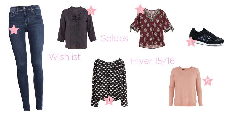 Wishlist soldes hivers H&M Promod André