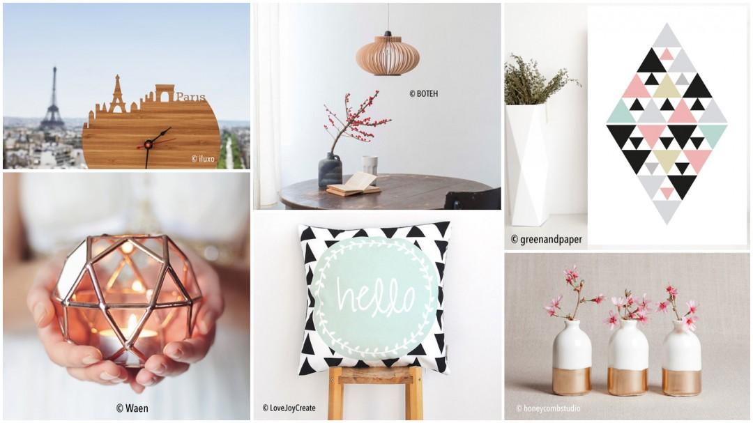 Selection Etsy shopping design et déco d'intérieur Les Petits Riens