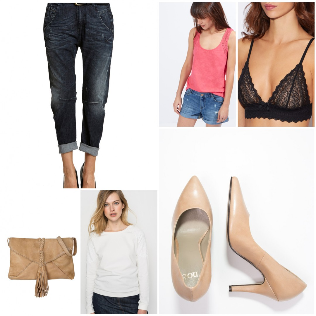 Sélection mode shopping jean boyfriend Les Petits Riens