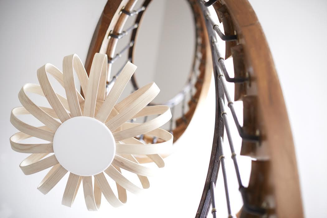 Luminaire en bois originaux Limelo Design