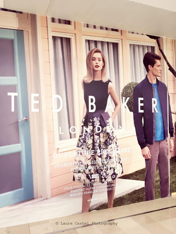 Ouverture boutique Ted Baker Les 4 Temps