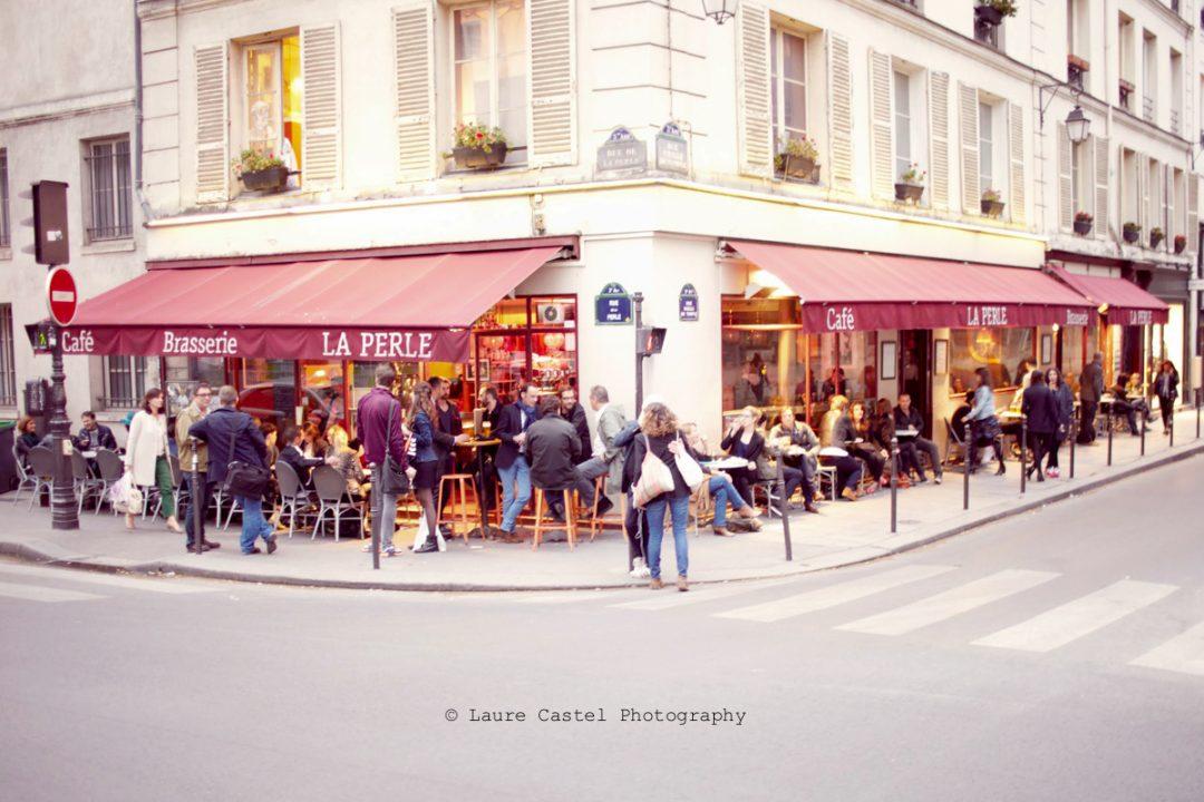 Café La Perle adresse brasserie Paris