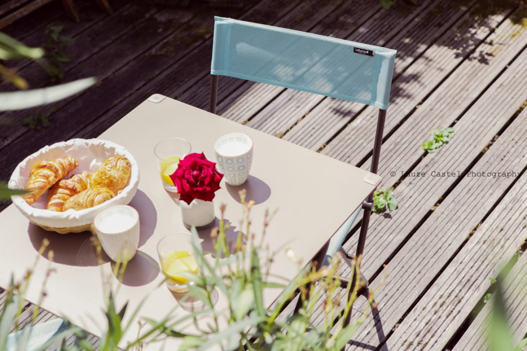 Lafuma Mobilier Table ANYTIME et chaises BALCONY   Les Petits Riens
