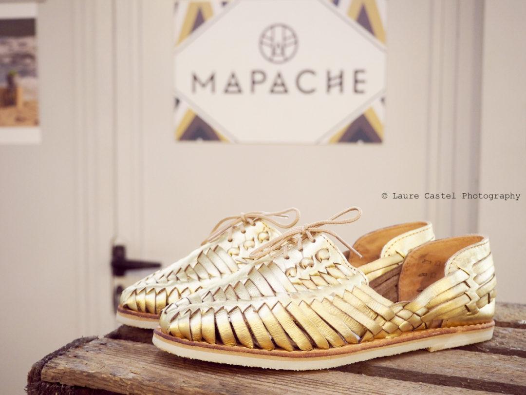 Mapache Mexico chaussures cuir Poulette Sun Party | Les Petits Riens