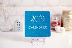 Calendrier 2019 à imprimer | Les Petits Riens