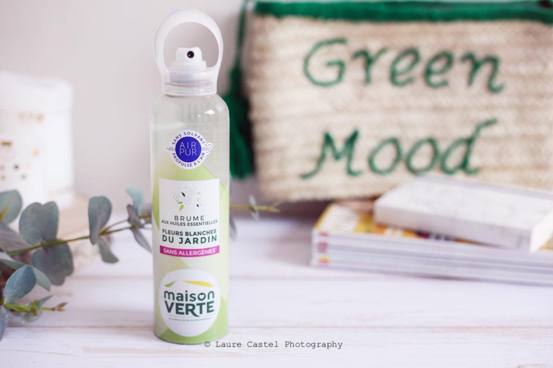 Brume aux Huiles Essentielles Maison Verte | Les Petits Riens