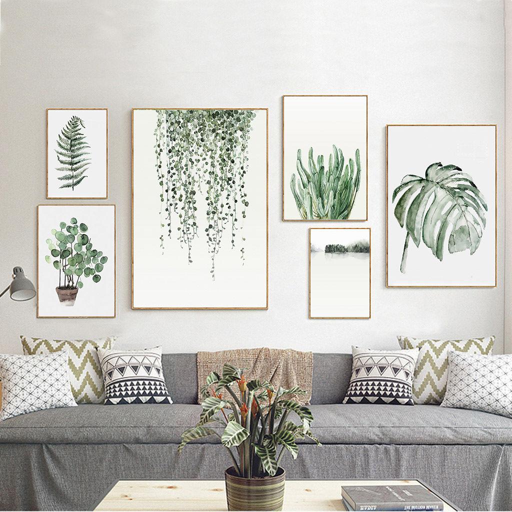 Une décoration murale tendance image fleurs dessin | Les Petits Riens