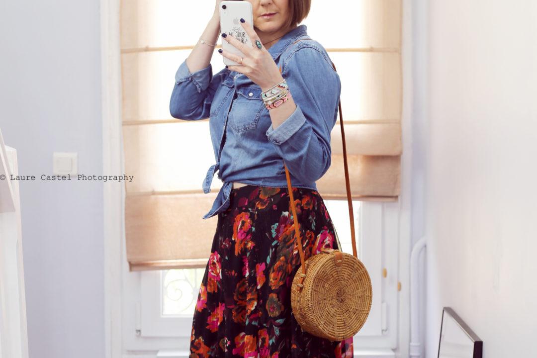 Jupe Amenapih look boho chic | Les Petits Riens