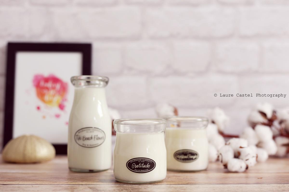 Bougie Gratitude Milkhouse Candle Co | Les Petits Riens